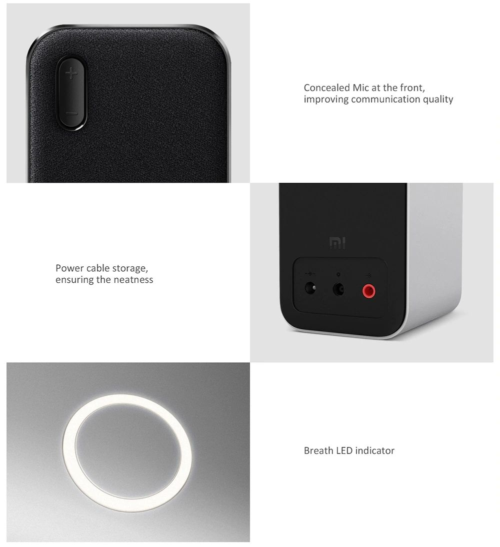 Xiaomi Portable Wireless Bluetooth Computer Speaker 2pcs (2)