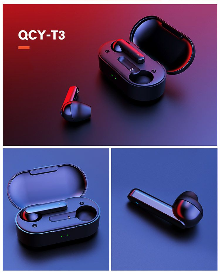 Xiaomi Qcy T3 Tws Bluetooth 5 0 Earphones With Charging Box (3)