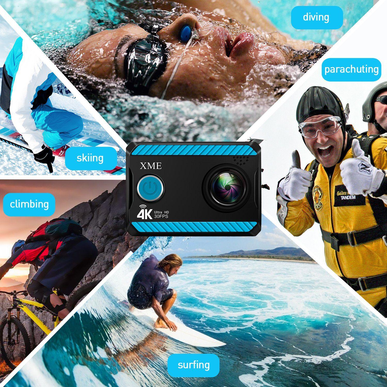 Xme Ultra Hd 4k Waterproof Action Camera (7)