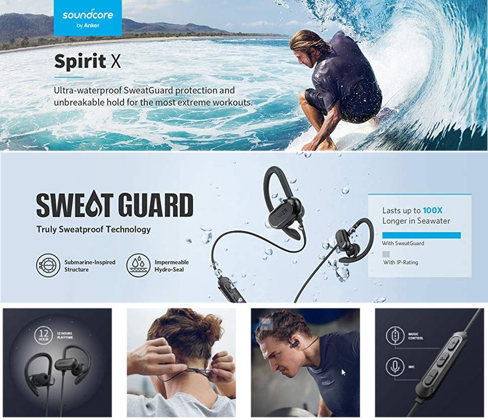 Anker Soundcore Spirit X Wireless Headphones (1)