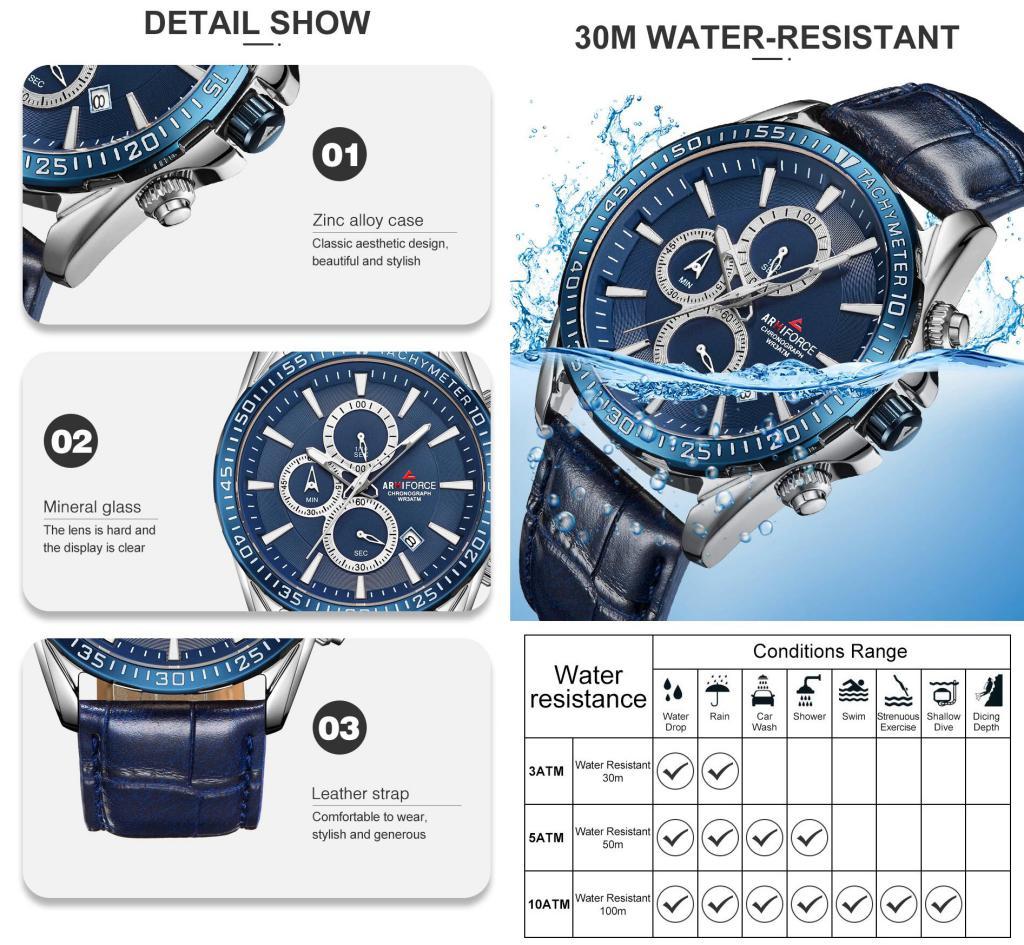 Armiforce 8001 Brand Luxury Men Watches (1)
