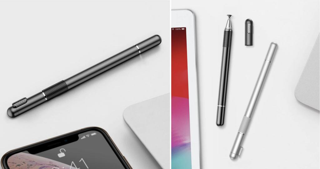 Baseus 2 In 1 Capacitive Stylus Pen For Mobile Tablet (3)