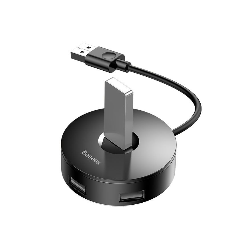 Baseus Round Box Hub Adapter 4 Usb Ports (3)