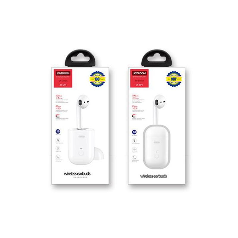 Joyroom Jr Sp1 Single Bluetooth Earphone With Charging Case (3)