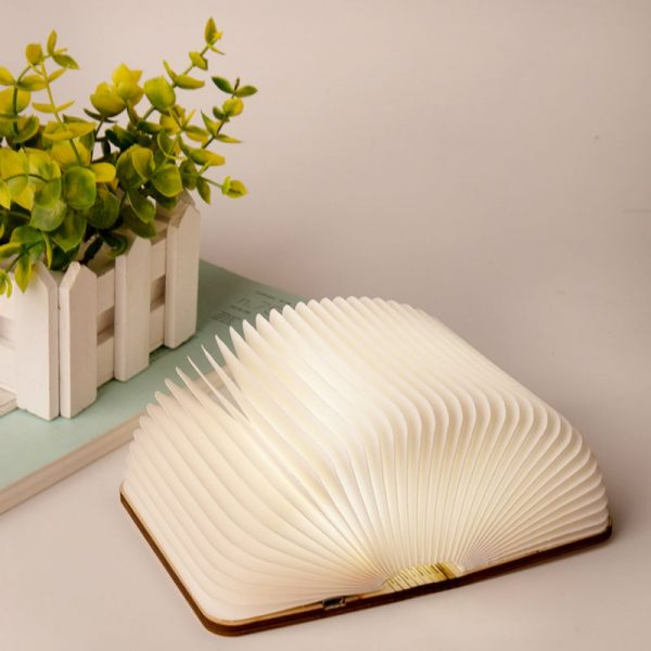 Led Book Lamp Foldable Rechargeable (4)