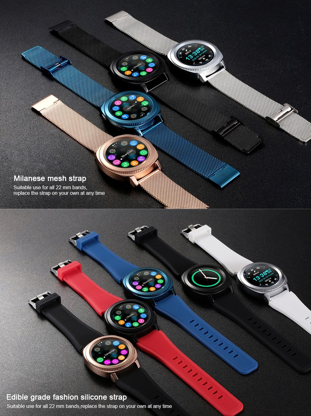 Microwear L2 Waterproof Smartwatch (5)