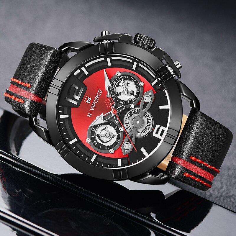 Naviforce 9168 Luxury Men Watch (3)