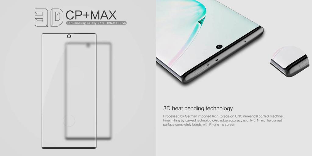 Nillkin Samsung Galaxy S10 Amazing 3d Cp Max Tempered Glass Screen Protector (4)