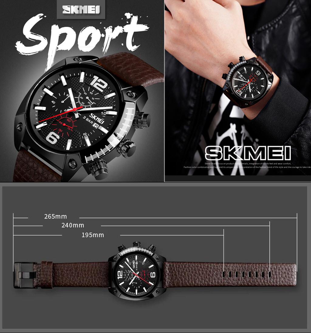 Skmei 9190 Mens Sports Watch (3)