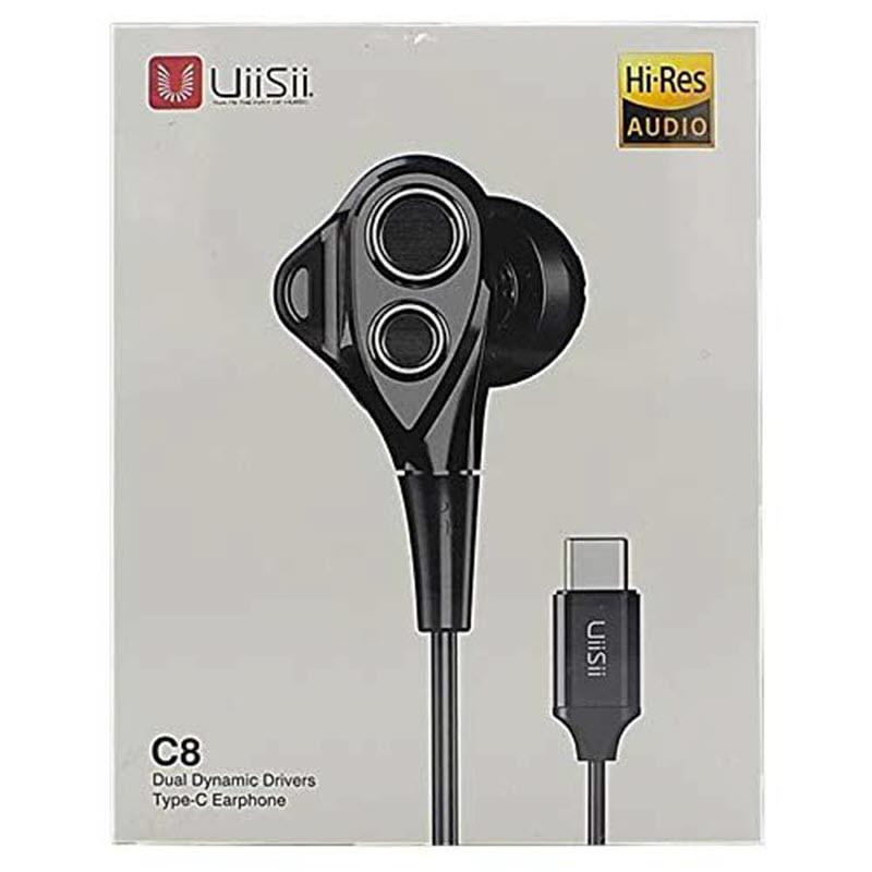 Uiisii C8 Dual Dynamic Type C In Ear Earphones (2)