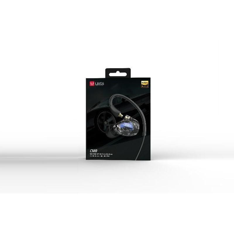 Uiisii Cm8 Triple Hybrid Drivers Detachable Armature Earphones (3)
