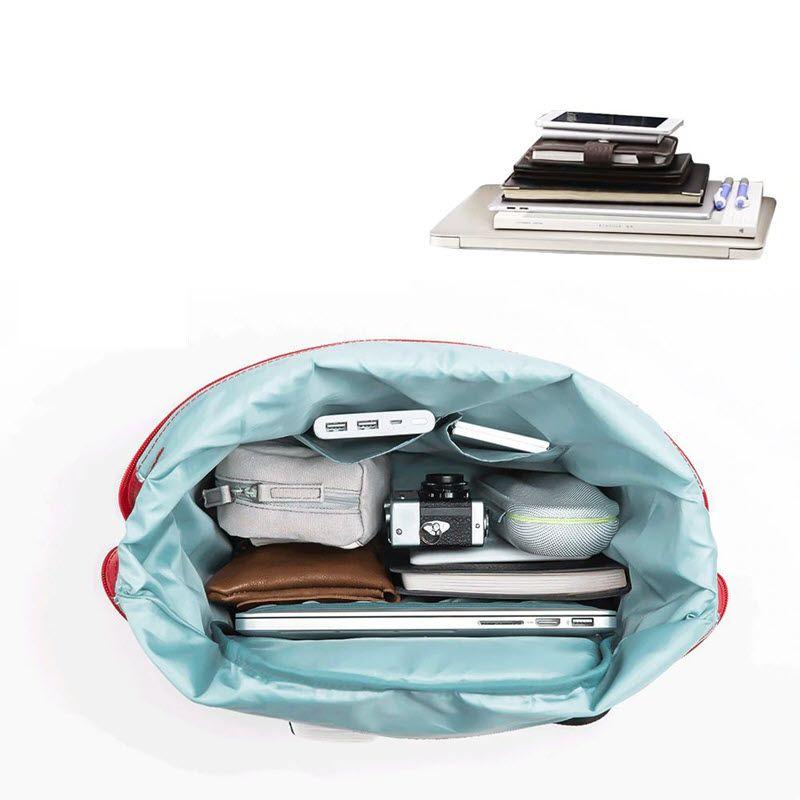 Xiaomi 90 Fun Lecturer Leisure Nylon Waterproof Backpack (4)