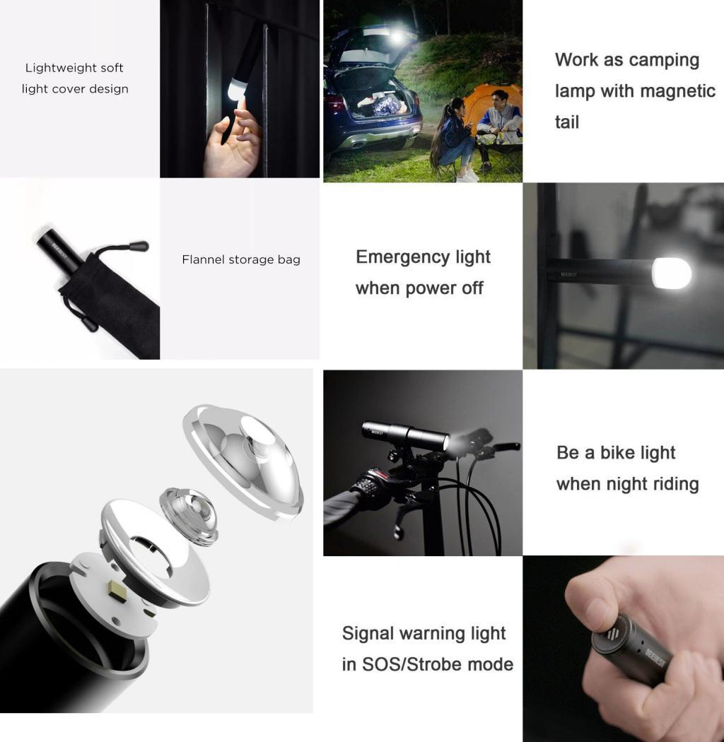 Xiaomi Mijia Beebest 100lm Flashlight (1)