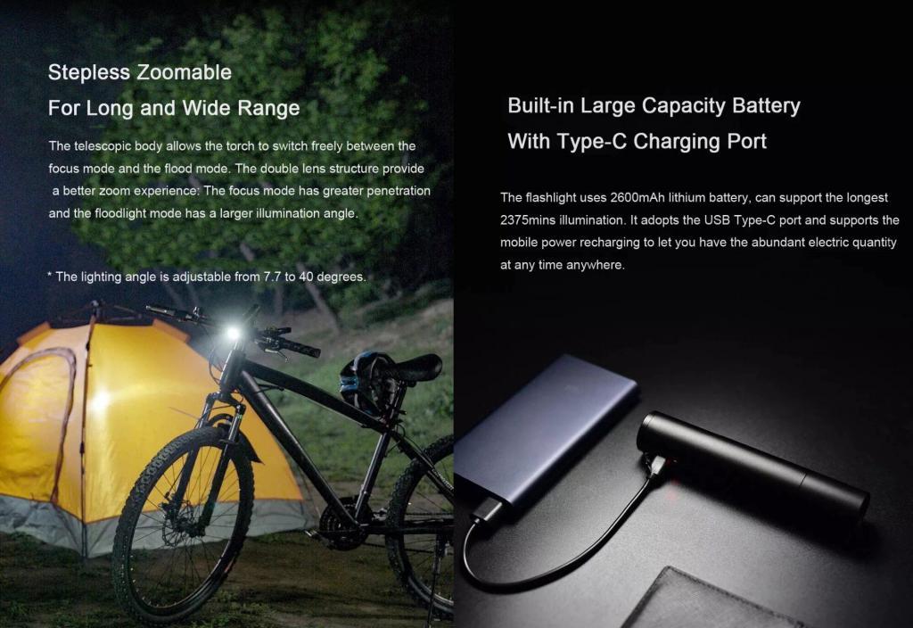 Xiaomi Mijia Beebest 100lm Flashlight (3)