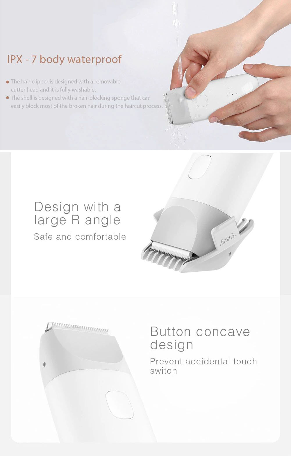 Xiaomi Mitu Razor Baby Hair Trimmer (2)