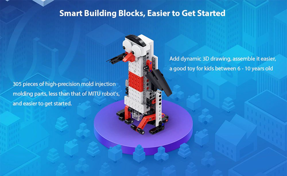 Xiaomi Mitu Smart Mini Building Robot (2)