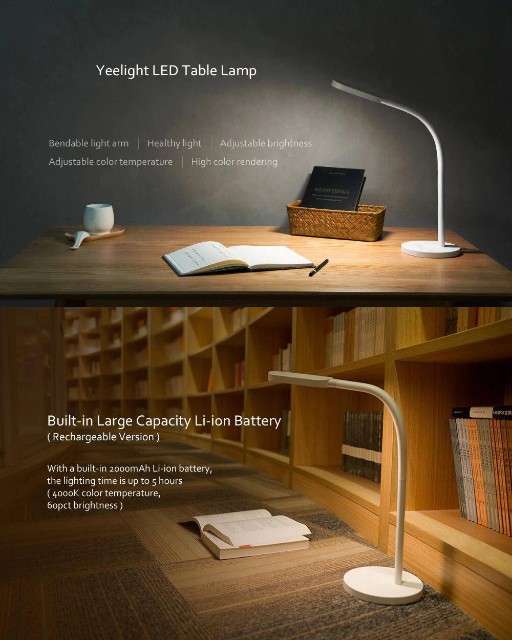 Xiaomi Yeelight Led Desk Lamp Rechargeable (5)