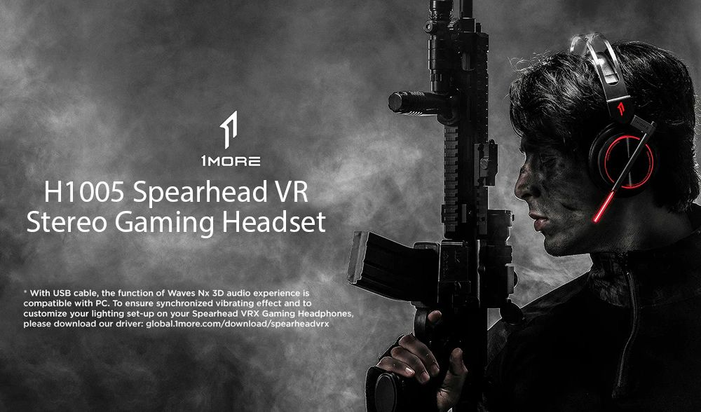 1more H1005 Spearhead Vr Gaming Headphones (4)
