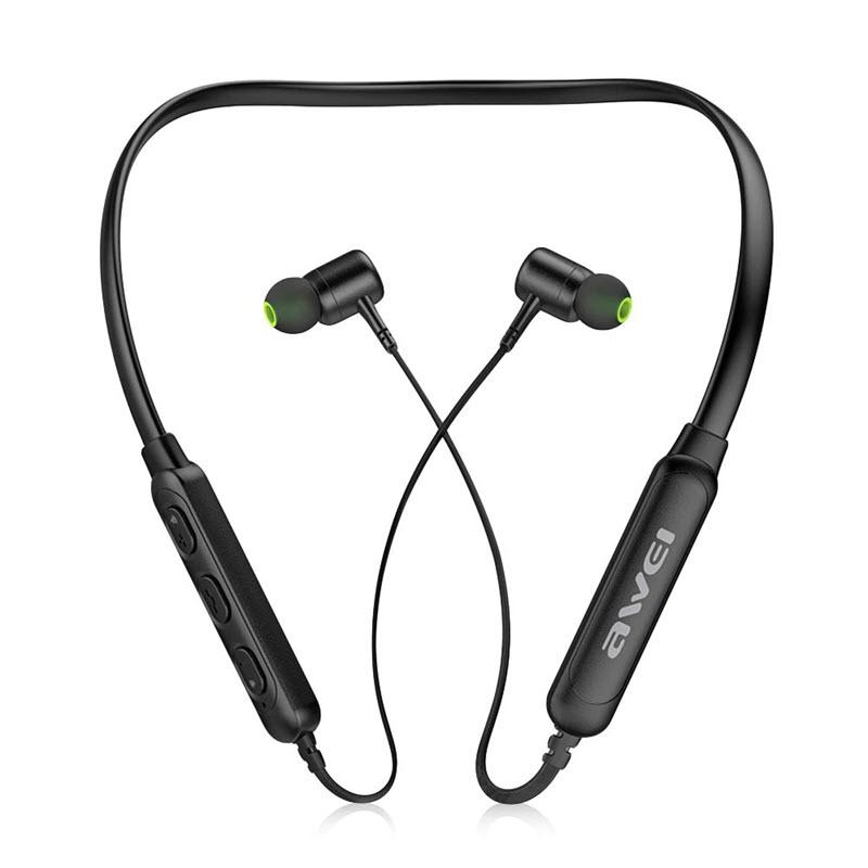 Awei G30bl Wireless Bluetooth 4 2 Neckband Headphones (1)