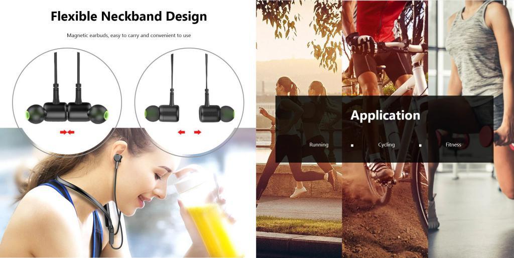 Awei G30bl Wireless Bluetooth 4 2 Neckband Headphones (6)