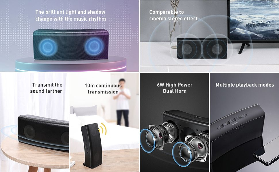 Baseus Encok E08 Wireless Speaker (1)