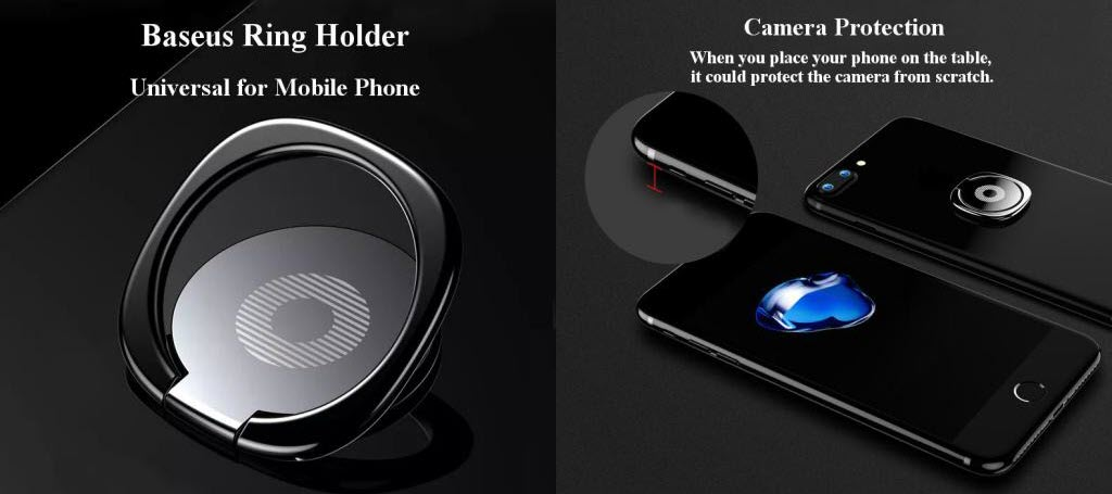 Baseus Privity Ring Bracket Phone Holder (6)