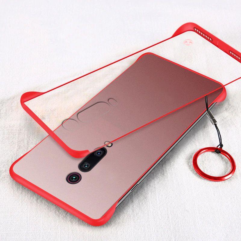 Frameless Transparent Case For Xiaomi Redmi K20 Mi9t Pro (3)