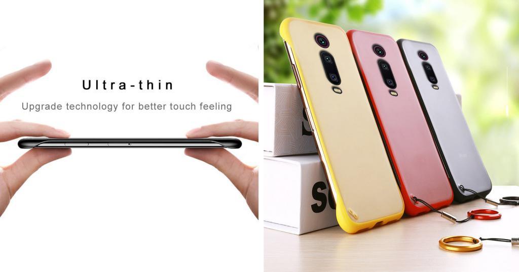 Frameless Transparent Case For Xiaomi Redmi K20 Mi9t Pro (6)