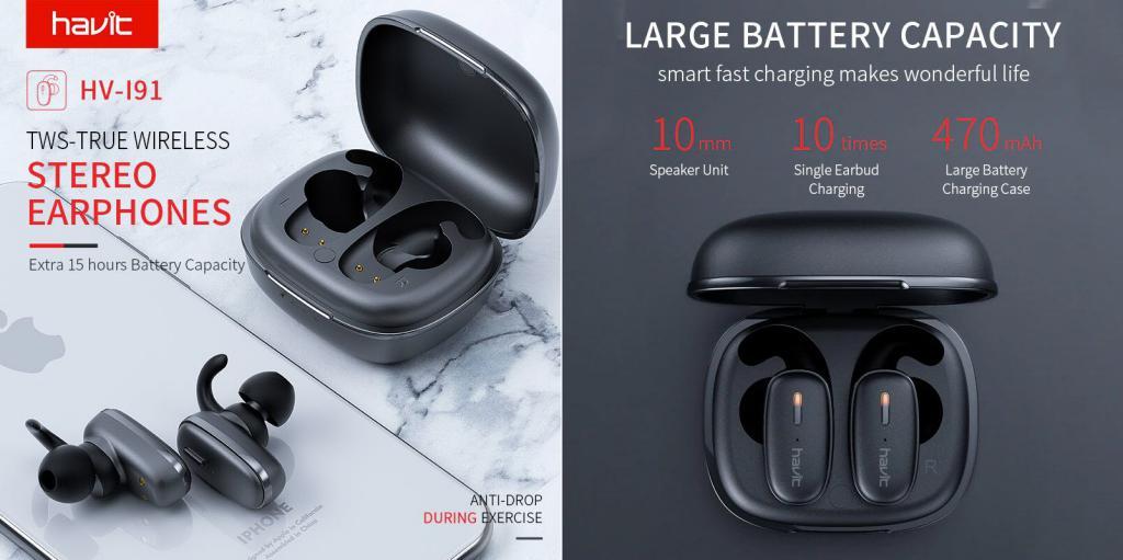 Havit Ix501 Tws Bluetooth Earbuds (5)