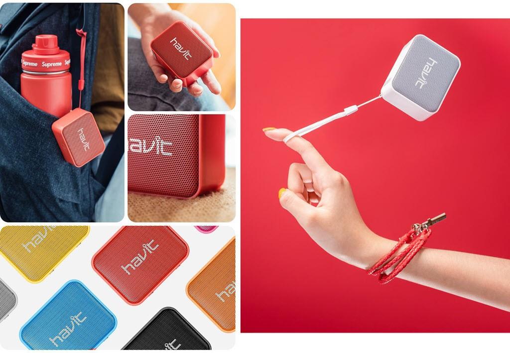 Havit Mx702 Portable Bluetooth Speaker (9)