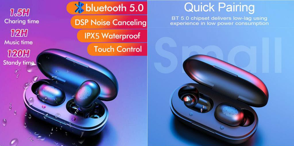 Haylou Gt1 Tws Bluetooth V5 Earphones (6)