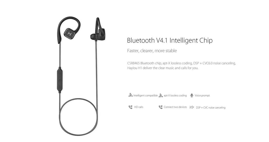 Haylou H1 Bluetooth Sports Earbuds (6)