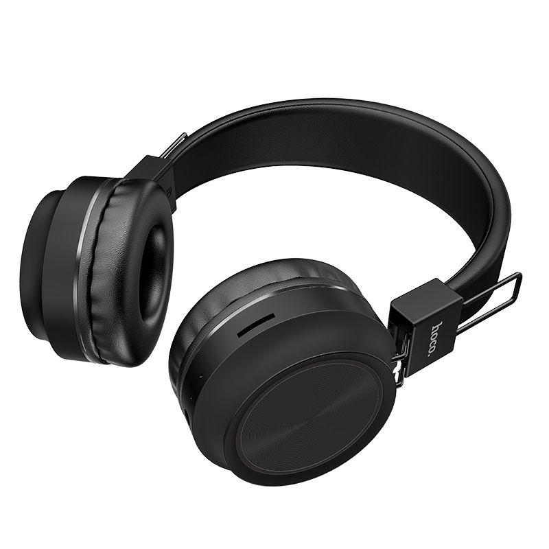 Hoco W25 Wireless Headphones With Mic (2)