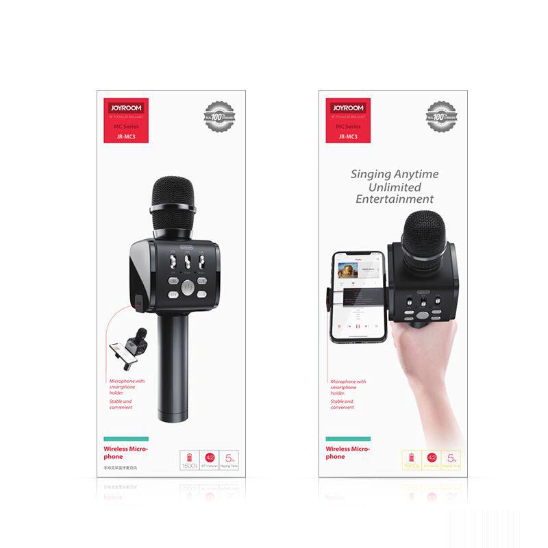 Joyroom Jr Mc3 2 In 1 Handheld Wireless Bluetooth Dynamic Microphone (2)