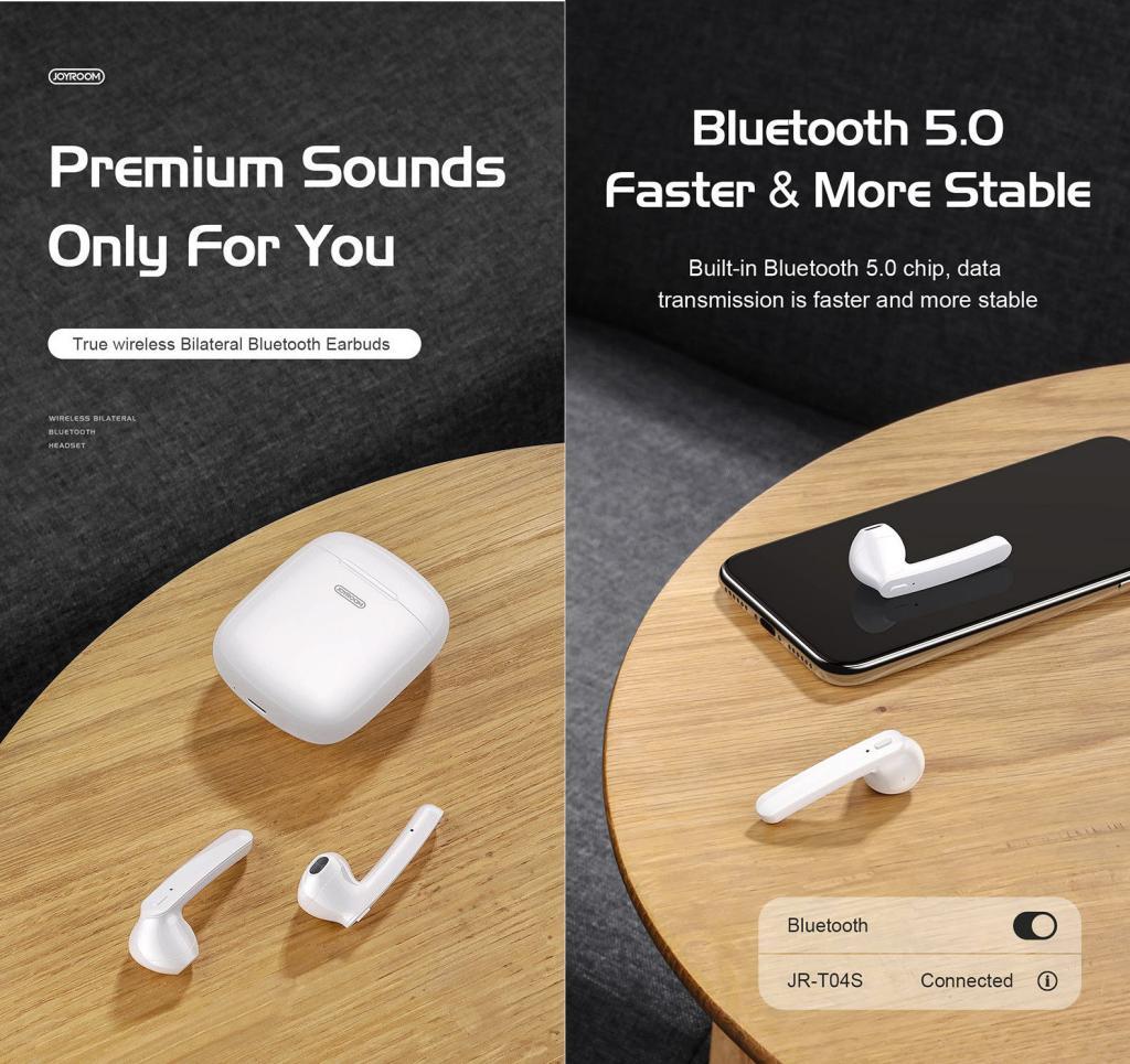 Joyroom Jr T04s Tws Bluetooth Earbuds (4)