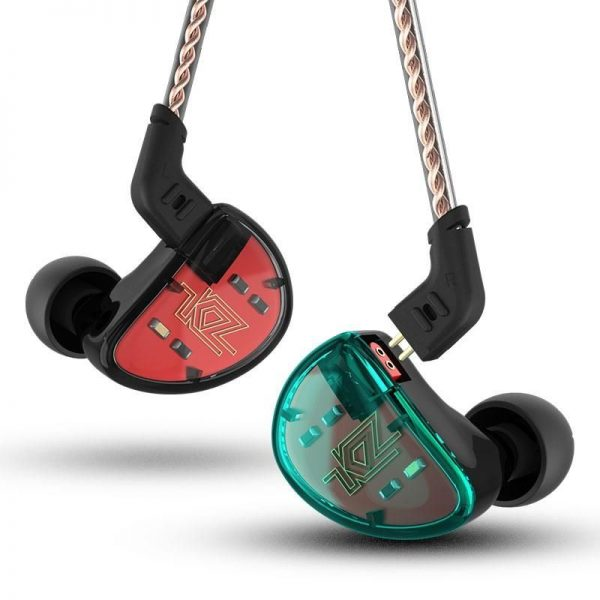 Kz As10 5ba Hifi Stereo Earphones (5)