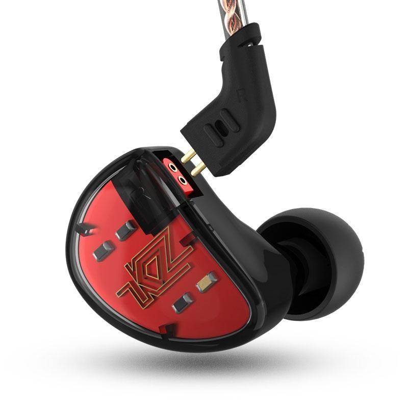 Kz As10 5ba Hifi Stereo Earphones (7)