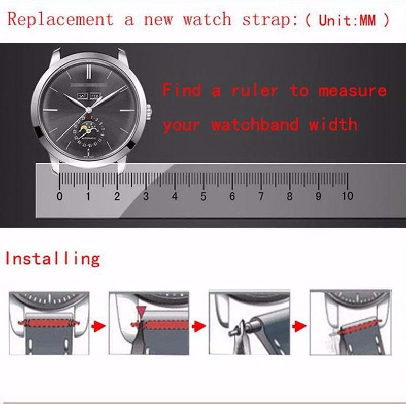 Leather Belt Watch Strap (1)