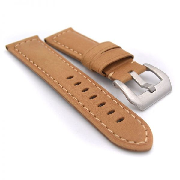 Leather Belt Watch Strap (2)