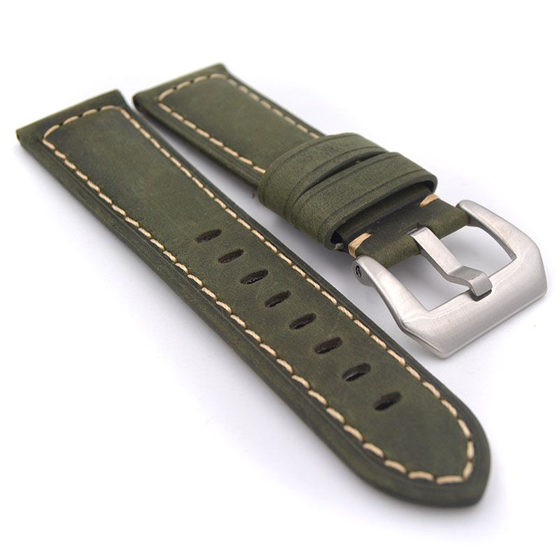 Leather Belt Watch Strap (3)