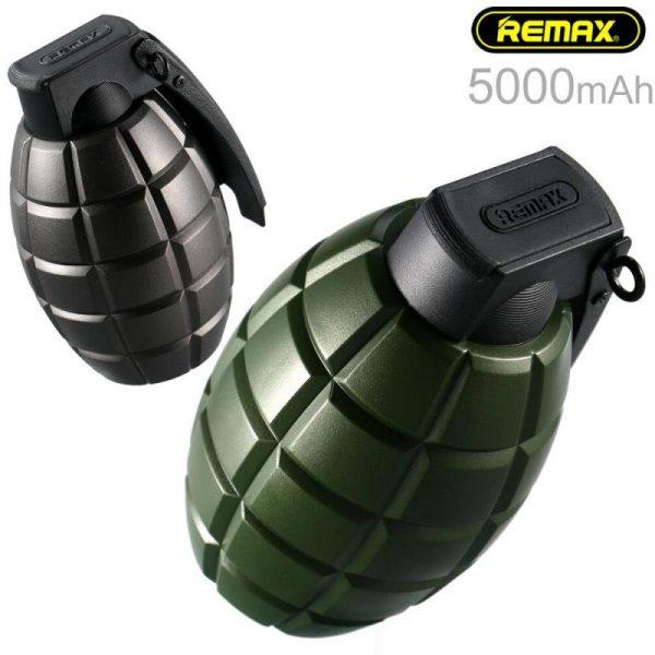 Remax Grenade Powerbank 5000mah (2)