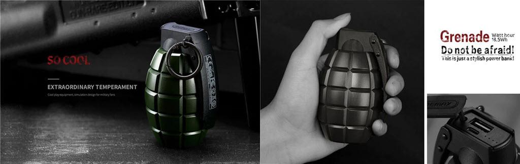 Remax Grenade Powerbank 5000mah (4)