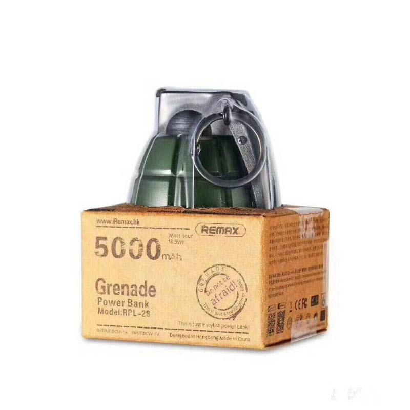Remax Grenade Powerbank 5000mah (6)