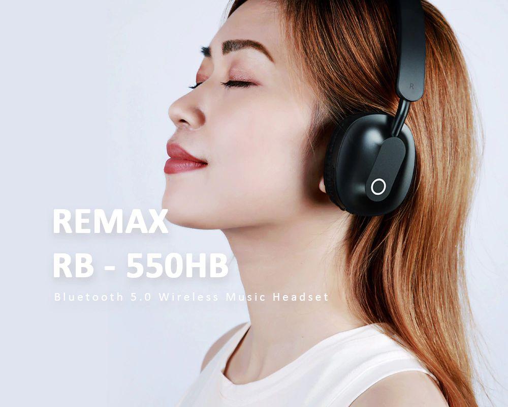 Remax Rb 550hb Bluetooth V5 Wireless Headphones (2)