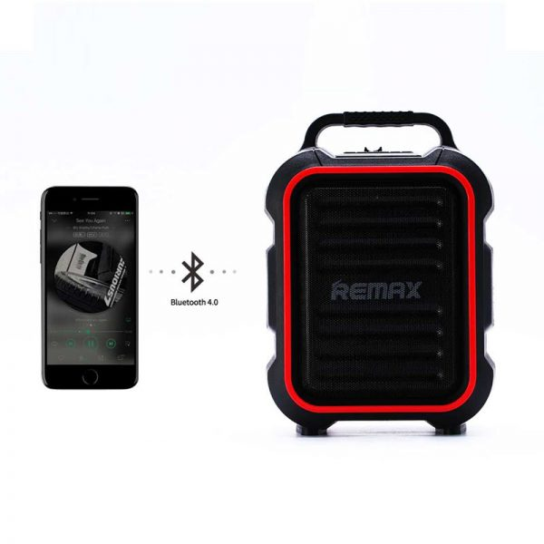 Remax Rb X3 Portable Outdoor Wireless Speaker (2)