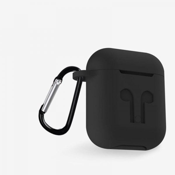 Rock Airpods Silicone Case With Anti Lost Strap Hook (6)