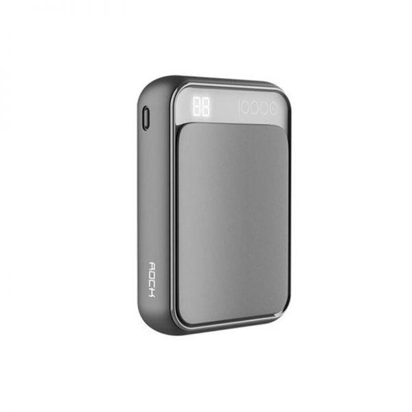 Rock P63 Mini Power Bank 10000mah With Digital Display (1)