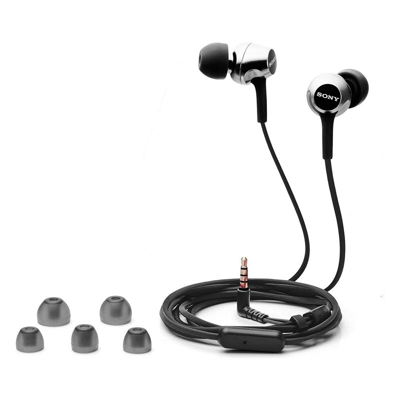 Sony Mdr Ex255ap In Ear Headphones With Mic (5)