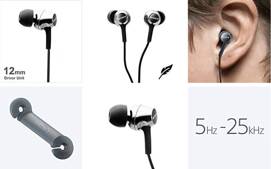 Sony Mdr Ex255ap In Ear Headphones With Mic (7)