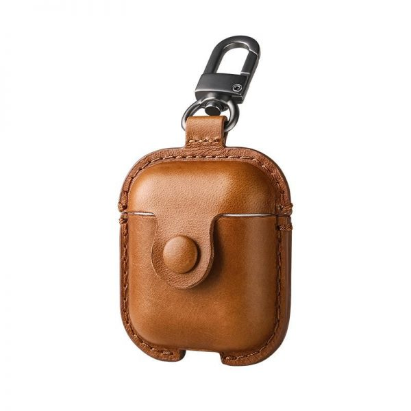 Usams Us Bh475 Genuine Leather Airpods Case (1)
